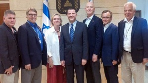 Canadian politicians in Israel