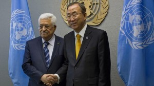 abbas and ban ki moon