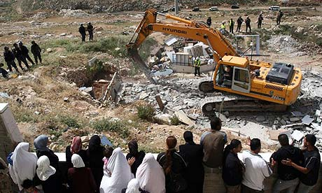 westbank home destruction
