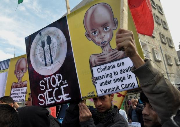yarmouk famine
