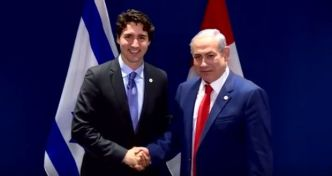 trudeau and netanyahu