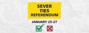 sever ties ballot