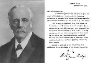 balfour and declaration