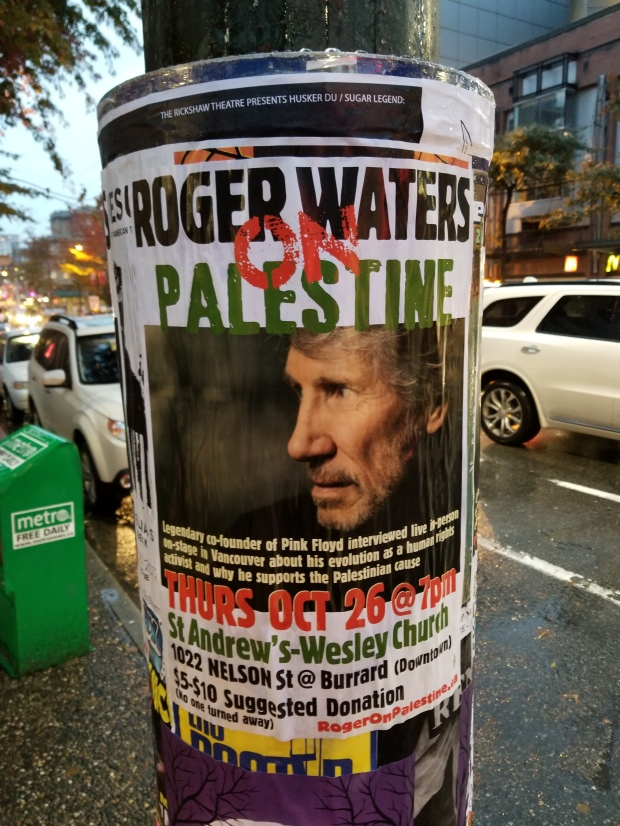 roger waters poster vancouver