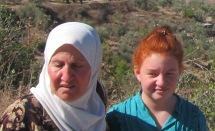 redheaded palestinian woman