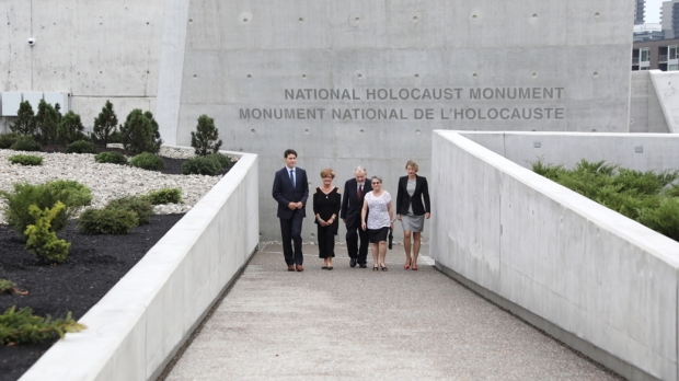 trudeau at holocaust memorial.jpg