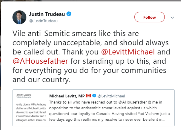 trudeau against lascaris
