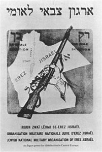 irgun recruiting poster