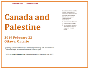 canada and palestine