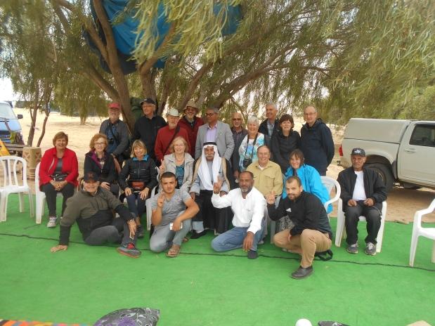 group pic with sheikh of al araqib
