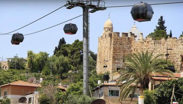 cable car jerusalem
