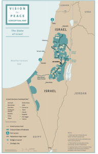 proposed map of new palestinian state