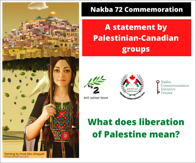 nakba 72 statement
