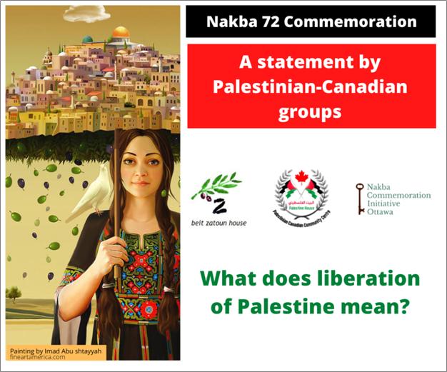 nakba 72 statement